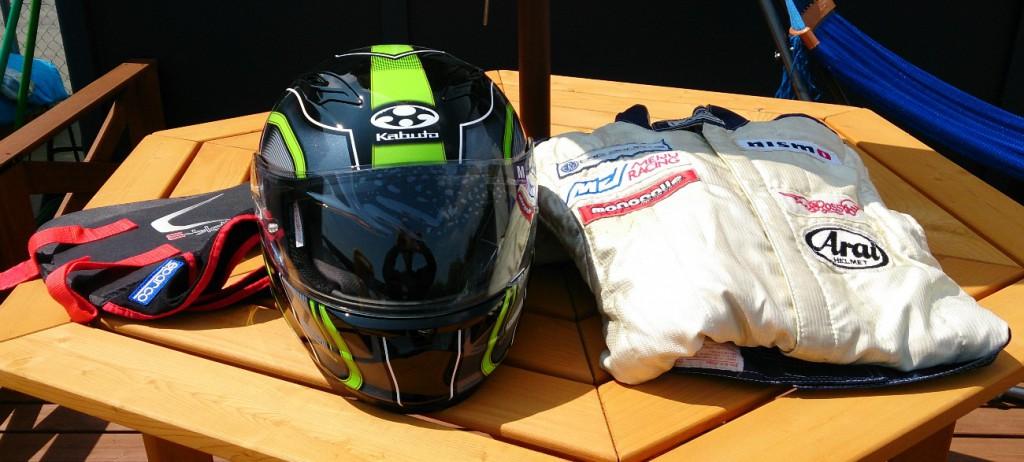 レーシングカート 装備品
