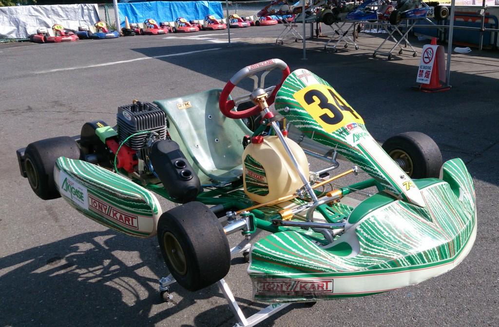 レンタルレーシングカート TONYKART/KT100SEC レース参戦仕様