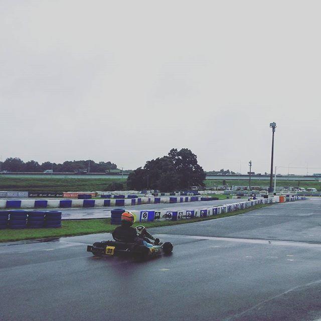 練習の鬼!レース後の雨練!#レーシングカート#モータースポーツ