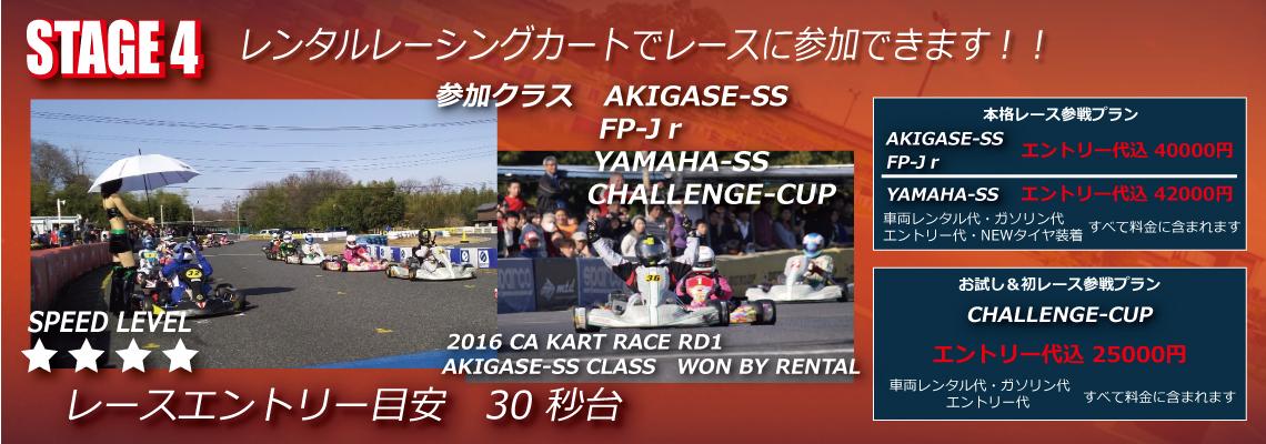 レンタルレーシングカートでレースに参加