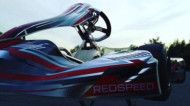 #REDSPEED#レーシングカート#シェイクダウン